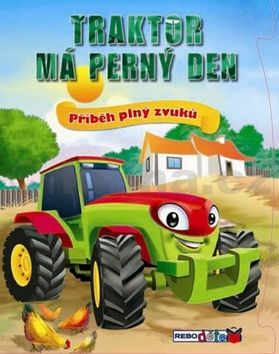 Traktor má perný den cena od 171 Kč