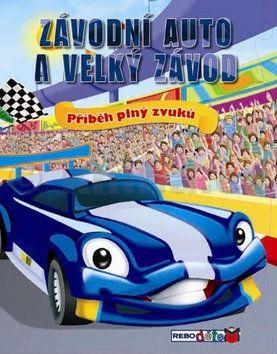 Závodní auto a velký závod cena od 27 Kč