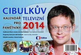 Aleš Cibulka: Cibulkův kalendář pro televizní pamětníky 2014 cena od 37 Kč