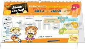 Školní plánovací kalendář - stolní kalendář 2014 cena od 96 Kč