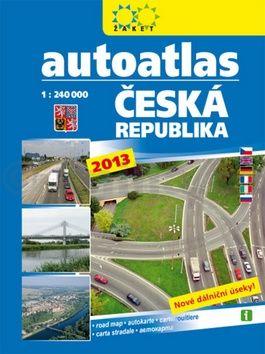 Autoatlas Česká republika 2013 cena od 159 Kč