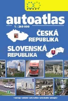 Autoatlas Česká republika Slovenská republika cena od 189 Kč