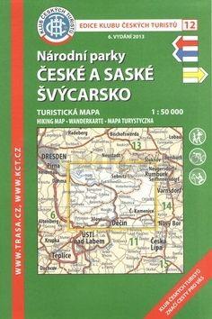 KČT 12 České a Saské Švýcarsko cena od 89 Kč