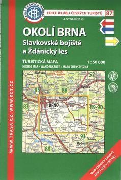 KČT 87 Okolí Brna, Slavkovské bojiště a Ždánský les cena od 86 Kč