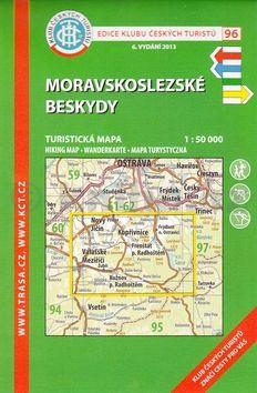 KČT 96 Moravskoslezské Beskydy cena od 94 Kč