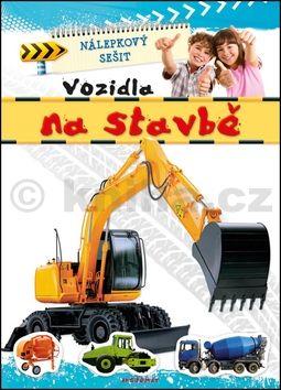 Nálepkový sešit Vozidla na stavbě cena od 28 Kč