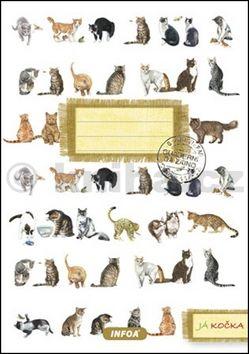 Notýsek Já kočka cena od 36 Kč