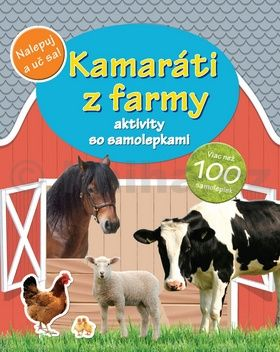 Kamaráti z farmy - aktivity so samolepkami cena od 40 Kč