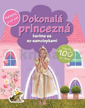 Dokonalá princezná - viac než 100 samolepiek cena od 42 Kč