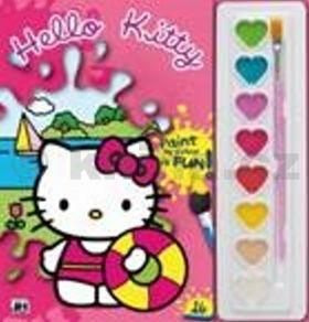 Hello Kitty omalovánka s vodovkami cena od 63 Kč