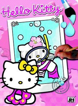 Hello Kitty 1 - omalovánka cena od 37 Kč