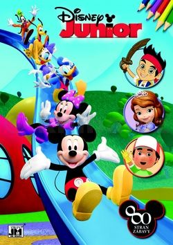 Disney Junior omalovánka cena od 59 Kč