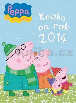 Peppa Knížka na rok 2014 cena od 164 Kč