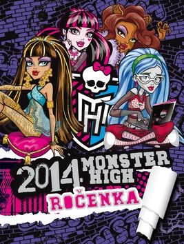 Nettlová Klára: Monster High - Ročenka 2014 cena od 199 Kč