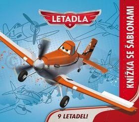 Walt Disney: Letadla - Kniha šablon cena od 109 Kč