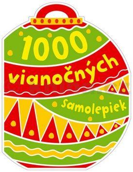 1000 vianočných samolepiek cena od 134 Kč