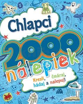Chlapci - 2000 nálepiek cena od 195 Kč