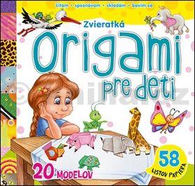 Origami pre deti - zvieratká cena od 152 Kč