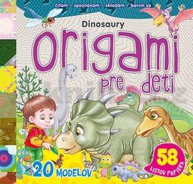 Origami pre deti Dinosaury cena od 152 Kč