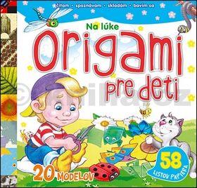 Origami pre deti Na lúke cena od 83 Kč