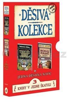 Terry Deary: Děsivá kolekce 6 - Vesmír + Římané + titul zdarma - BOX cena od 221 Kč