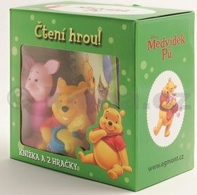 Walt Disney: Medvídek Pú-krabička s gumáčkem cena od 147 Kč