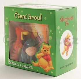 Walt Disney: Medvídek Pú-krabička s gumáčkem cena od 155 Kč