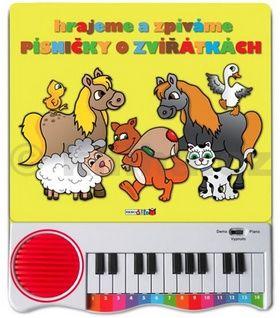 Hrajeme a zpíváme písničky o zvířátkách cena od 275 Kč