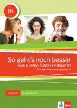So geht´snoch besser zum Goethe- ÖSD-Zertifikat B1 cena od 424 Kč