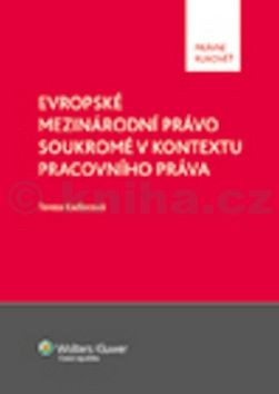Tereza Kadlecová: Evropské mezinárodní právo soukromé v kontextu pracovního práva cena od 271 Kč