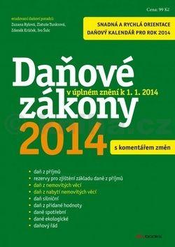 Daňové zákony 2014 cena od 70 Kč