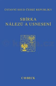 Sbírka nálezů a usnesení ÚS ČR, svazek 64 cena od 465 Kč