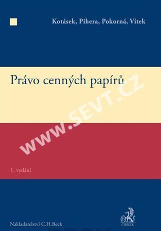 Jindřich Vítek: Právo cenných papírů cena od 586 Kč
