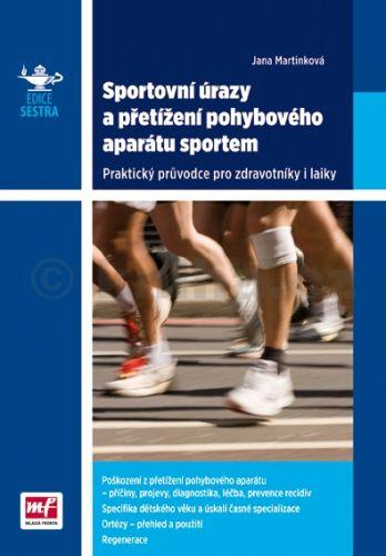 Jana Martinková: Sportovní úrazy a přetížení pohybového aparátu sportem - Praktický průvodce pro zdravotníky i laiky cena od 88 Kč
