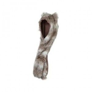 At Republic Faux Fur Spirit Hood čepice