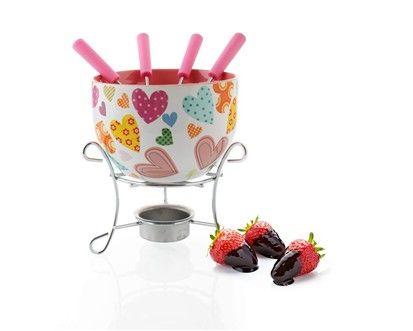 BANQUET Choco Hearts fondue set cena od 225 Kč