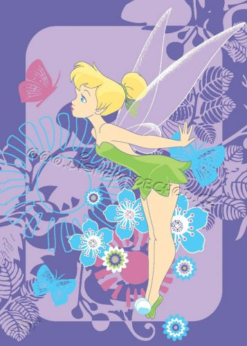 VOPI Fairies Tink Tropical koberec