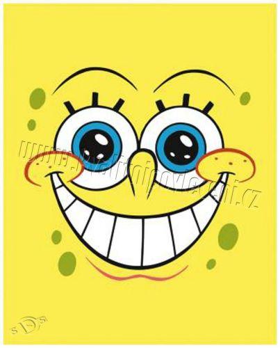 KAUFMANN Spongebob fleece deka