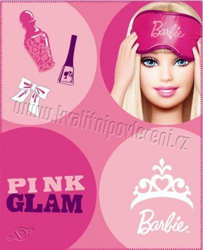 CTI Barbie POP fleece deka