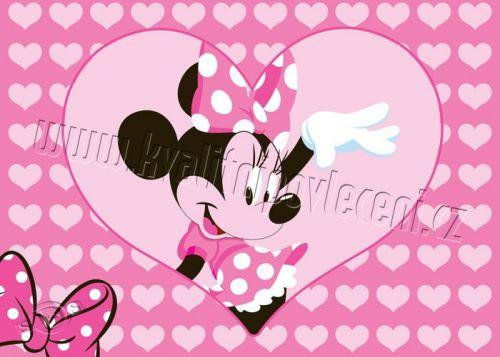 VOPI Minnie Hello koberec