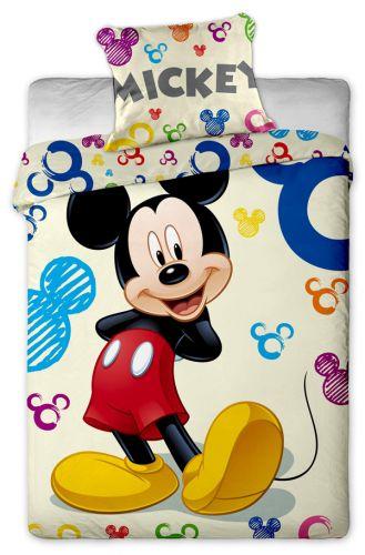 JERRY FABRICS Mickey colours bavlněné povlečení