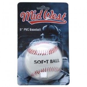 MidWest 9 inch PVC Softball