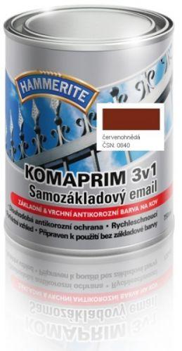 Hammerite Komaprim 3v1 červenohnědý 0,75 l
