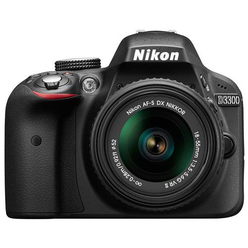 Nikon D3300 cena od 10899 Kč