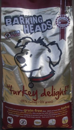BARKING HEADS TURKEY DELIGHT GRAIN FREE 12 kg cena od 1 692 Kč