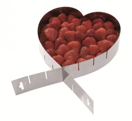 Westmark Forma na dort nastavitelná srdce cena od 126 Kč