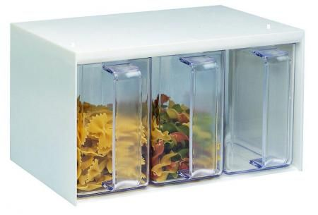 Westmark Roma Zásobník na kuchyňské násypky 4-dílný cena od 415 Kč