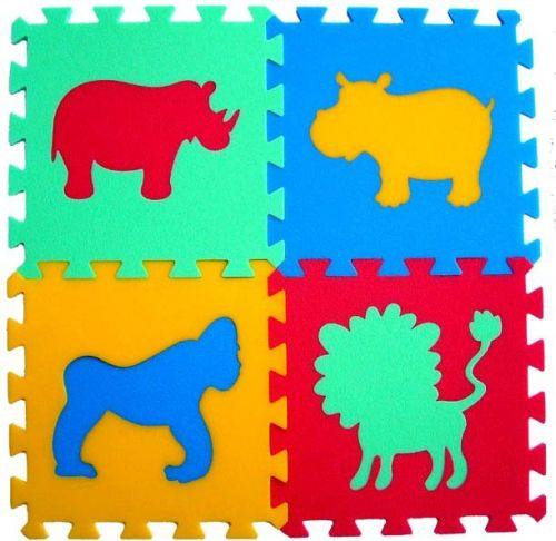 Malý neposeda Pěnový koberec puzzle Zvířátka II cena od 159 Kč