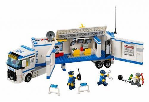 Lego CITY Mobilní policejní stanice 60044 cena od 899 Kč