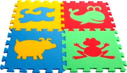 Malý neposeda Pěnový koberec puzzle Zvířátka I